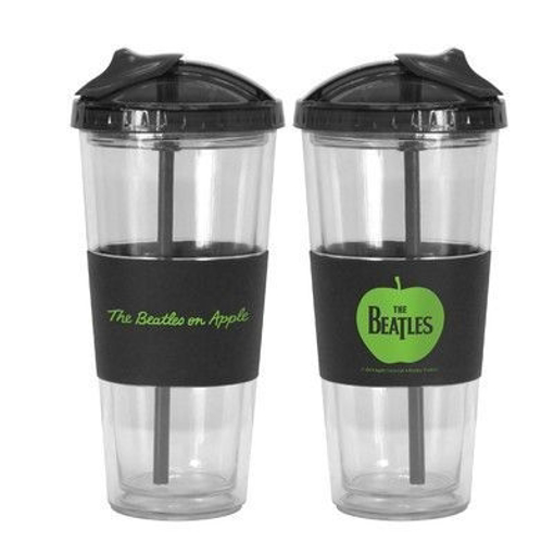 Picture of Beatles Cup: Beatles Apple No-Spill Straw Tumbler