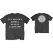 Picture of Beatles Adult T-Shirt: SPLHCB with Drum and Back Printing - Charcoal