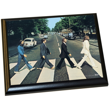 Picture of Beatles ART: The Beatles 'Abbey Road' 8x10 Plaque