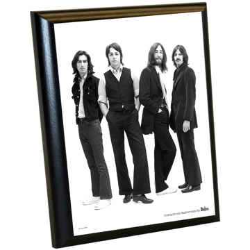 Picture of Beatles ART: The Beatles '1970 Group Portrait' 8x10 Plaque