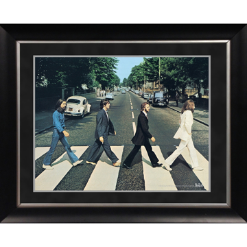 Picture of Beatles ART: The Beatles 'Abbey Road' 11x14 Framed Photo