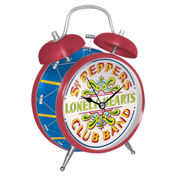 Picture of Beatles Clock: The Beatles Sgt Pepper's Twin Bell Alarm Clock