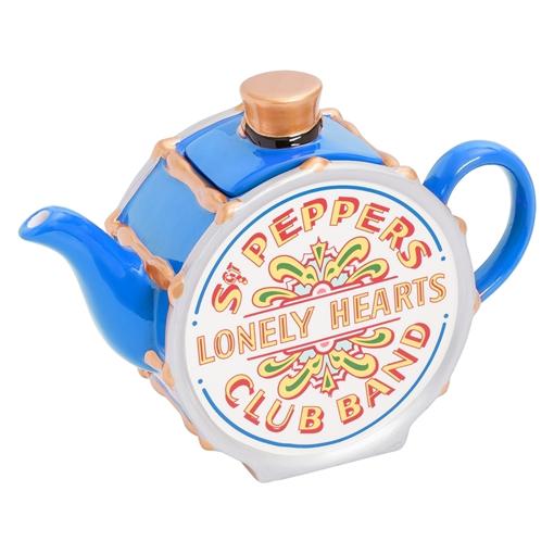 "Picture of Beatles Tea Pot: The Beatles Sgt Pepper's Tea Pot ""Limited Edition"" Blue"