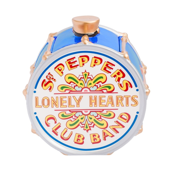 Picture of Beatles Cookie Jar: The Beatles Sgt Pepper's Ceramic Cookie Jar Blue Version