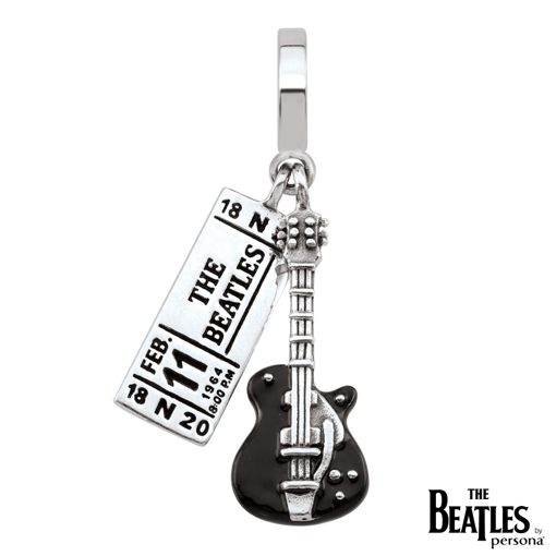 Picture of Beatles Jewelry: Beatles Charms  - 64 Ticket & Guitar