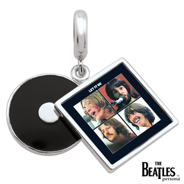 Picture of Beatles Jewelry: Beatles Charms  -  Let  It Be Album Cover Charm