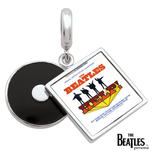 Picture of Beatles Jewelry: Beatles Charms  - HELP! Album Cover Charm