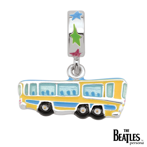 Picture of Beatles Jewelry: Beatles Charms  - Magical Mystery Tour Bus Charm