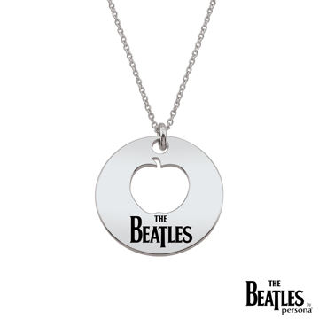 Picture of Beatles Jewelry: Beatles Necklace - DropT Logo Apple Cutout