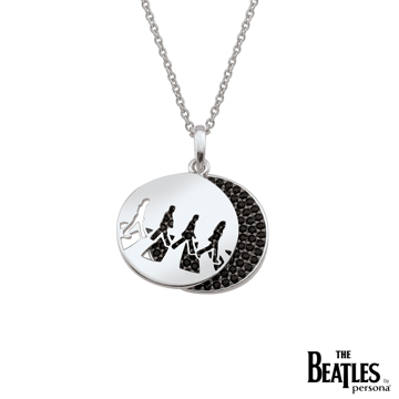Picture of Beatles Jewelry: Beatles Necklace - Abbey Road Crossing