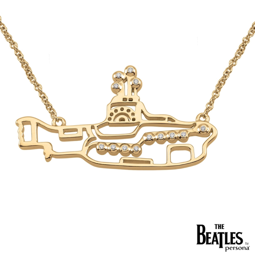 Picture of Beatles Jewelry: Beatles Necklace - Yellow Submarine