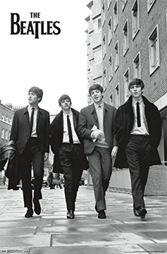 Picture of Beatles Poster: Walking in London