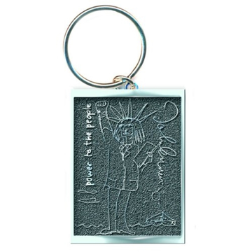 "Picture of Beatles Key Chain: John Lennon ""Power To The People"""
