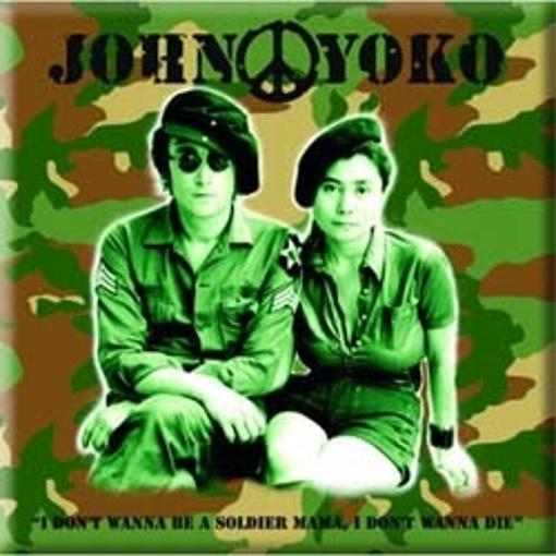 "Picture of Beatles Magnet: John Lennon ""Soldier"""