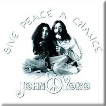 "Picture of Beatles Magnet: John Lennon ""Peace"""