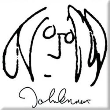 "Picture of Beatles Magnet: John Lennon ""Self Portrait"""