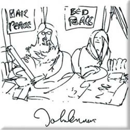 "Picture of Beatles Magnet: John Lennon ""Bedism"""