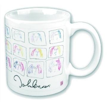 Picture of Beatles Mugs: John Lennon Multi Self Portrait Mug