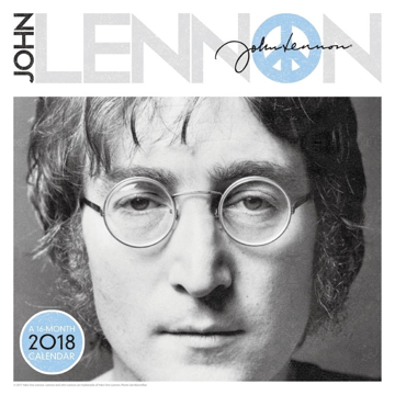 Picture of Beatles Calendar: John Lennon 2018