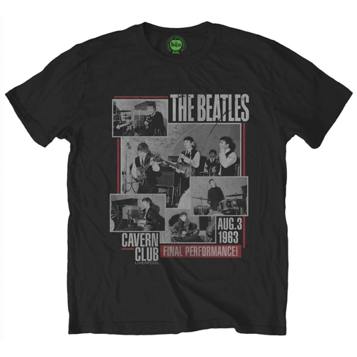 Picture of Beatles Adult T-Shirt: The Beatles Last Cavern Performance