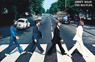 Picture of Beatles Poster:  Abbey Road
