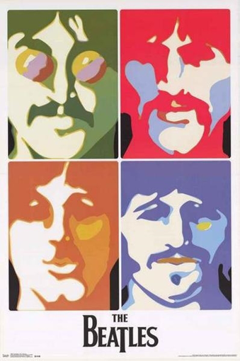 Picture of Beatles Poster:  Sea of Science