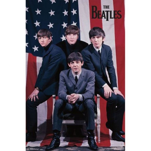 Picture of Beatles Poster:  Flag