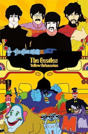 Picture of Beatles Poster: Two Worlds