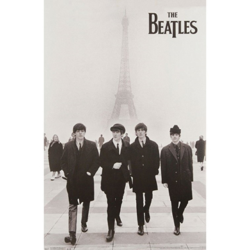 Picture of Beatles Poster:  Eiffel Tower