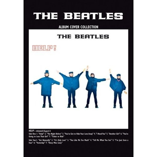 """Picture of Beatles Postcard Card: The Beatles """"Help"""" (Standard)"""