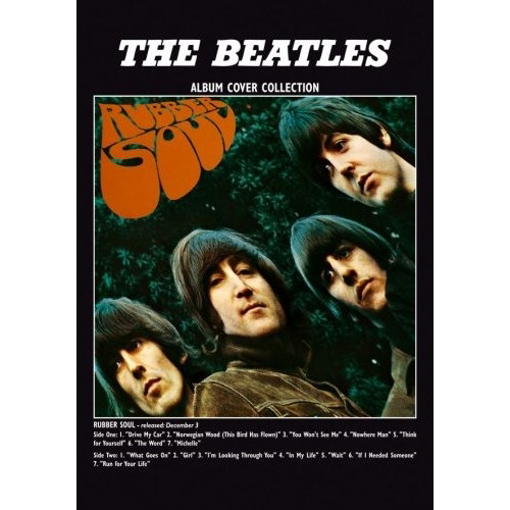 "Picture of Beatles Postcard Card: The Beatles ""Rubber Soul"" (Standard)"