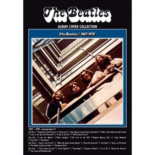 """Picture of Beatles Postcard Card: The Beatles """"1967-1970"""" (Standard)"""