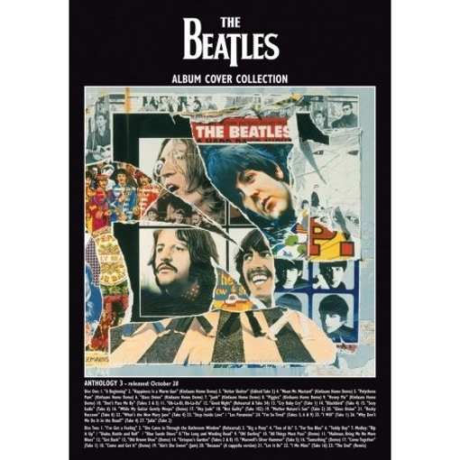 """Picture of Beatles Postcard Card: The Beatles """"Anthology 3 Album"""" (Standard)"""