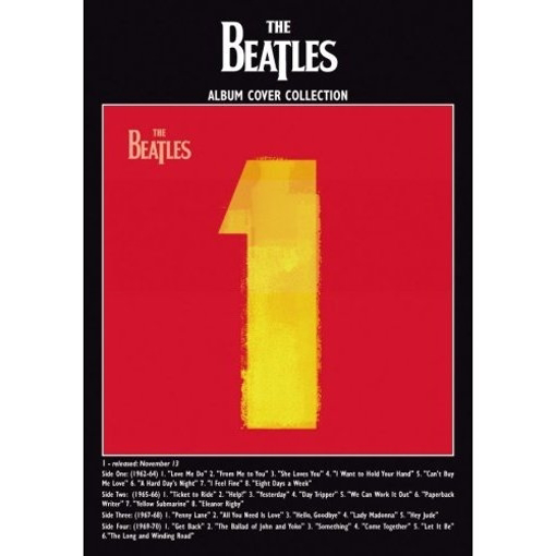 """Picture of Beatles Postcard Card: The Beatles """"One"""" (Standard)"""