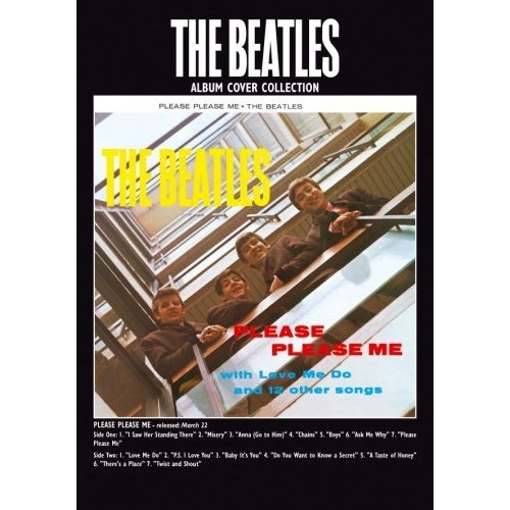 """Picture of Beatles Postcard Card: The Beatles """"Please Please Me"""" (Standard)"""