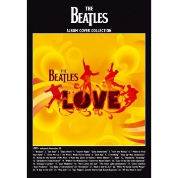 "Picture of Beatles Postcard Card: The Beatles ""Love Album"" (Standard)"