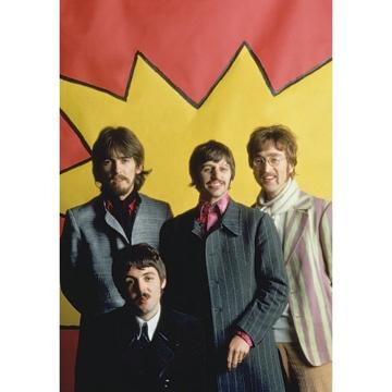 "Picture of Beatles Postcard Card: The Beatles ""LSD Portrait"" (Standard)"