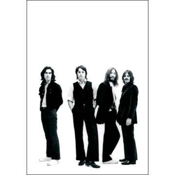 "Picture of Beatles Postcard Card: The Beatles ""1969 Portrait"" (Standard)"