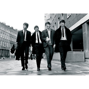 "Picture of Beatles Postcard Card: The Beatles ""Walking in London"" (Standard)"