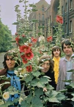 "Picture of Beatles Postcard Card: The Beatles ""Mad Day Out"""