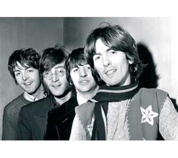 """Picture of Beatles Postcard Card: The Beatles """"Paperback Writer"""""""