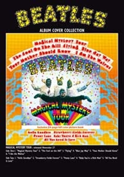 "Picture of Beatles Postcard Card: The Beatles ""Magical Mystery"""