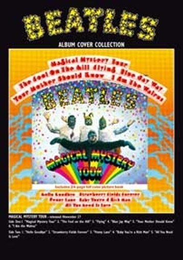 """Picture of Beatles Postcard Card: The Beatles """"Magical Mystery"""""""