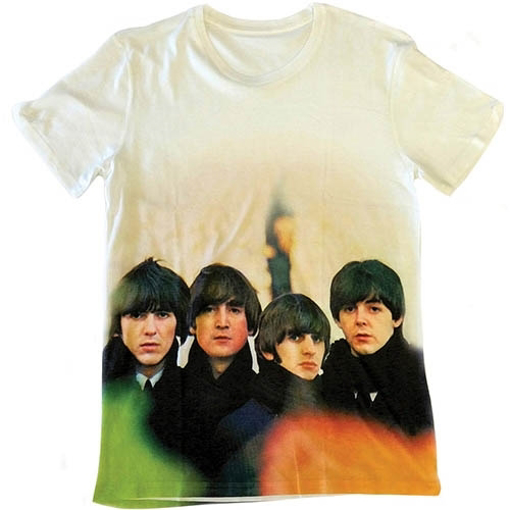 Picture of Beatles Adult T-Shirt: Beatles For Sale All Over