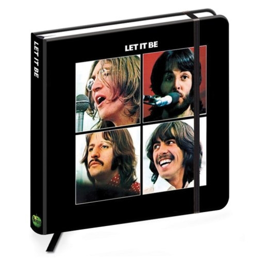 Picture of Beatles Notebook: The Beatles Let It Be Album Cover Notebook