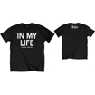 """Picture of Beatles Adult T-Shirt: Beatles Adult T-Shirt: Beatles Song Lyric Edition """"In My Life"""""""