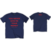 "Picture of Beatles Adult T-Shirt: Beatles Song Lyric Edition ""YNGMYM"""