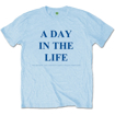 """Picture of Beatles Adult T-Shirt: Beatles Song Lyric Edition """"A Day in the Life"""""""