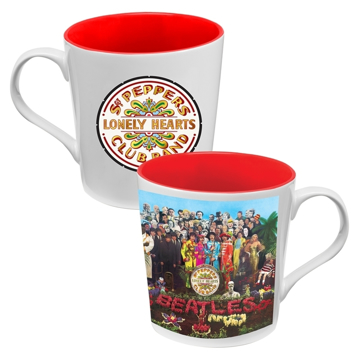 Picture of Beatles Mugs: The Beatles Sgt Pepper 12 oz. Ceramic Mug