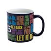 "Picture of Beatles Mugs: The Beatles ""Song Titles Drop T"" Heat Reactive 20oz Ceramic Mug"